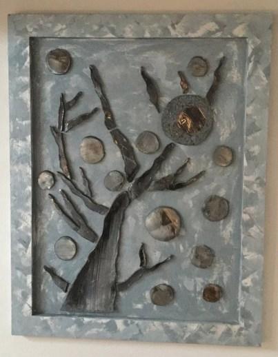 arte contemporanea ceramica IL FRASSINO DEL MONDO