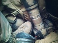 Dans le sac d'un photographe de guerre