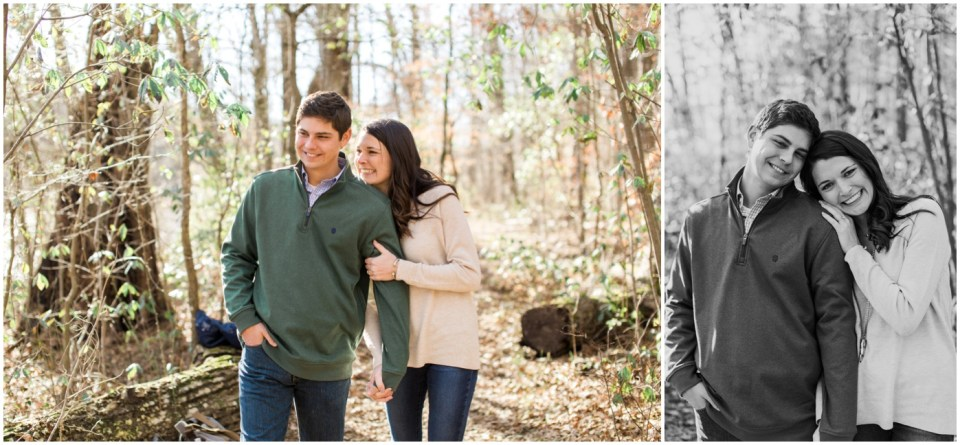 Chattahoochee River Engagement Session
