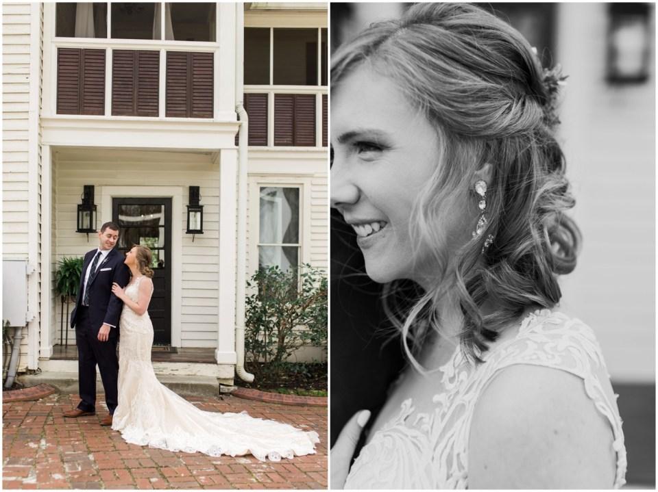 Wheeler House Photographer Bride Groom