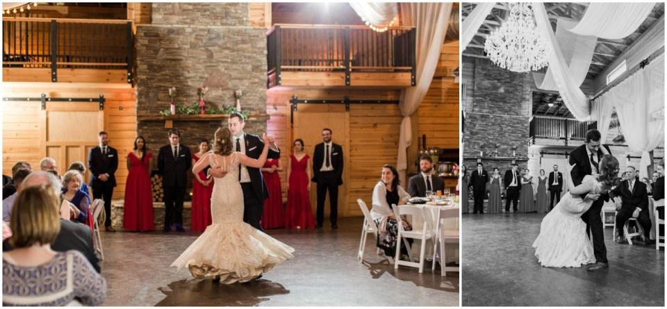 Wheeler House Photographer Reception First Dance