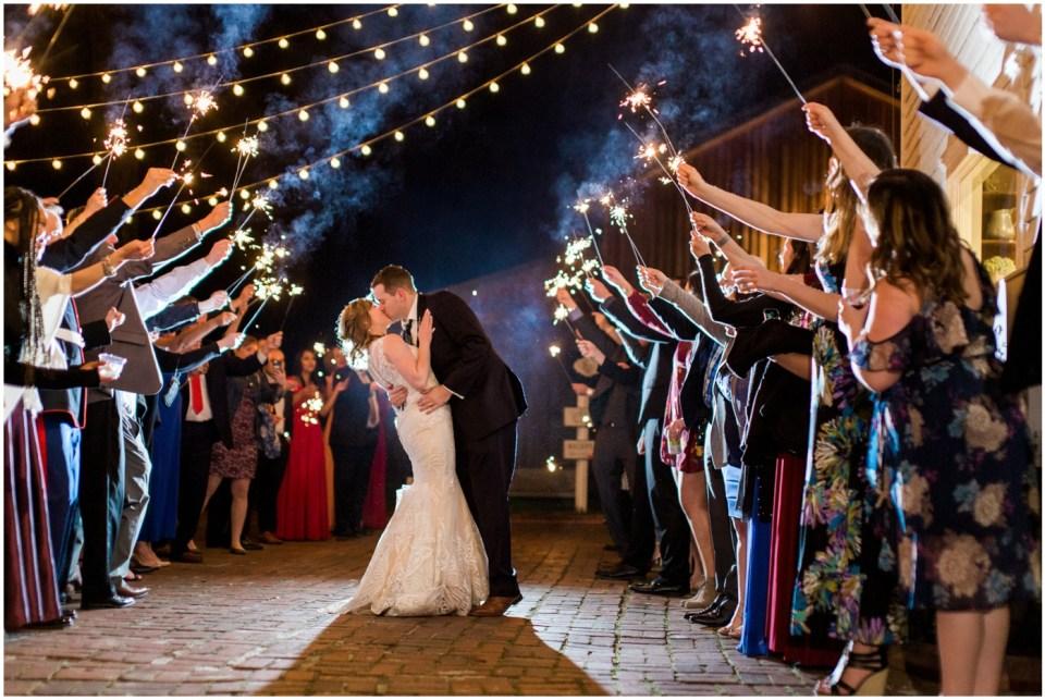 Wheeler House Photographer Wedding Sparkler Exit