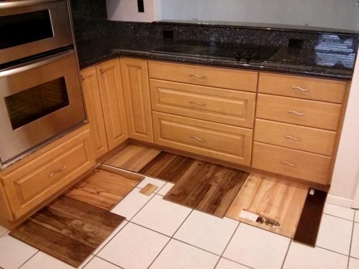 Wood Floor Samples- evanandkatelyn.com