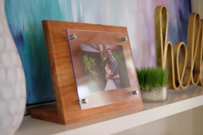 Modern Acrylic Photo Stand