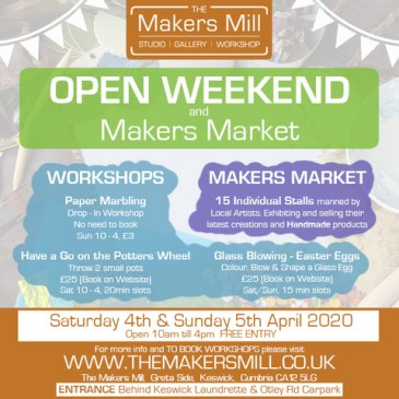 Open Weekend & Makers Market