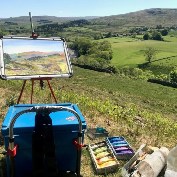 Landscapes of Alston Moor exhibition