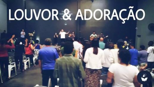 LOUVOR E ADORAÇÃO - DOMINGO APOSTÓLICO (2, DEZ 2018)