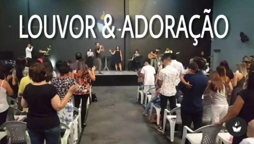 LOUVOR E ADORAÇÃO - DOMINGO APOSTÓLICO (9, DEZ 2018)