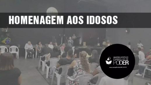 IDOSOS - HOMENAGEM AOS IDOSOS