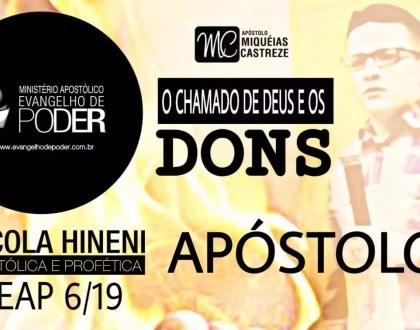 DONS | APÓSTOLO - DONS MINISTERIAIS - HEAP 6/19