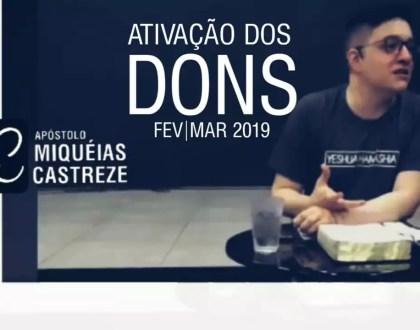 ESCOLA HINENI | DONS - Ativando Dons Espirituais | Ap. Miquéias Castreze