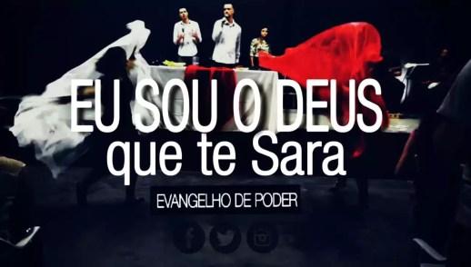 Eu sou o Deus que te Sara | Ministração e Dança Profética | Ap. Miqueias Castreze | EDP