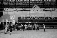 Entrance of Belexpo Centar by Florian Ziegler