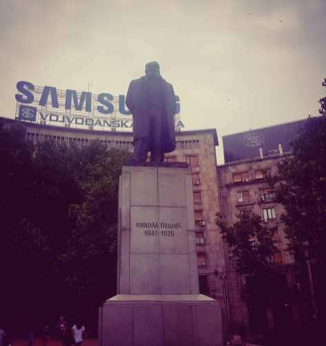 Nikola Pašić statue
