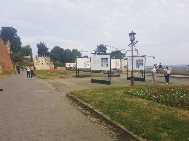 Photography exhibition inside the Kalemegdan fortress