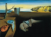 Dali 'The persistence of Memory'