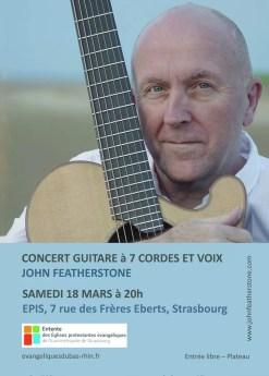 John Featherstone en concert