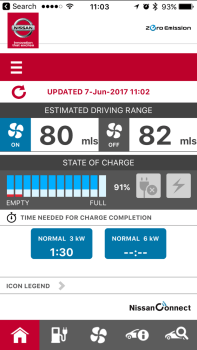 Nissan Leaf App