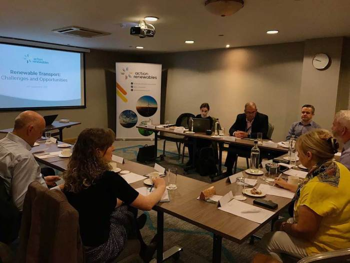 NIEVO at the Action Renewable Roundtable on Transport