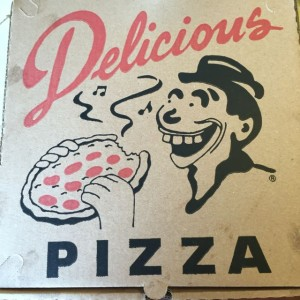Delicious Pizza Logo