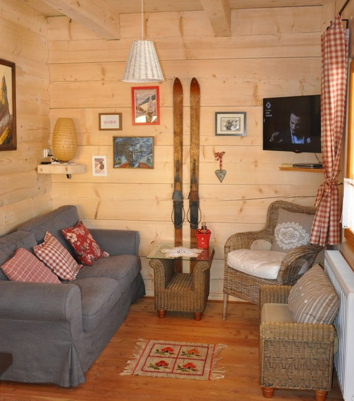 charming-small-log-cabin-living-area