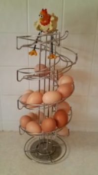 egg Skelter with eggs