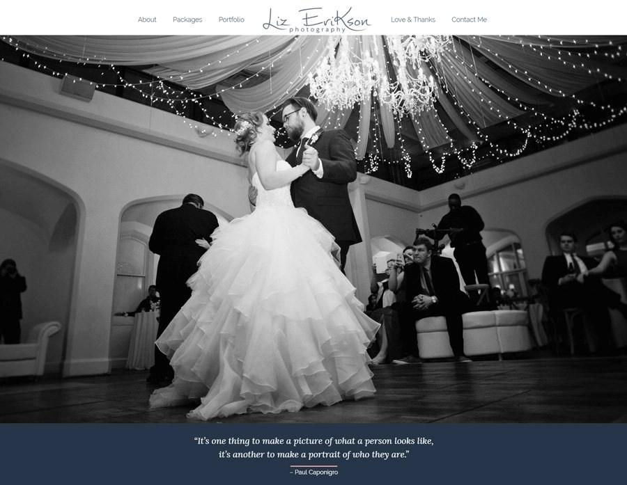 Website Design for Johns Creek Photographer