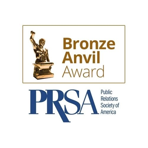 PRSA Bronze Anvil Award Winner