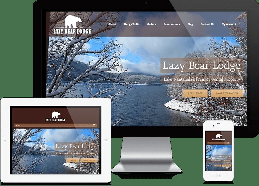 Ecommerce Property Rental Website Design