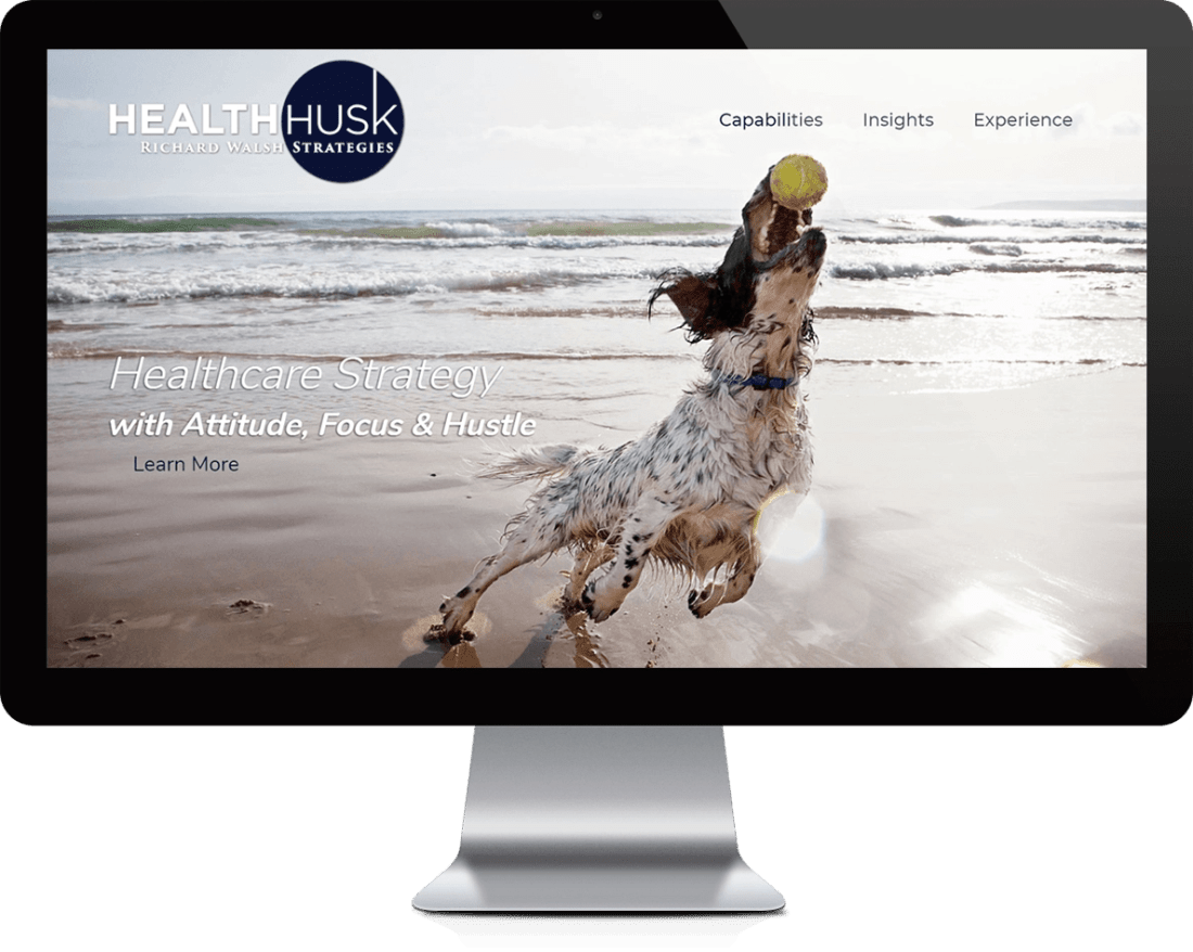 Johns Creek Healthcare Website Design - Health Husk Healthcare Strategies and Consulting