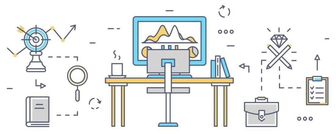 User Experience Design includes navigation, ease of use, functionality, security, page speed, quality of content, accessibility, and aesthetics. Together, these aspects determine how a user engages with your content.