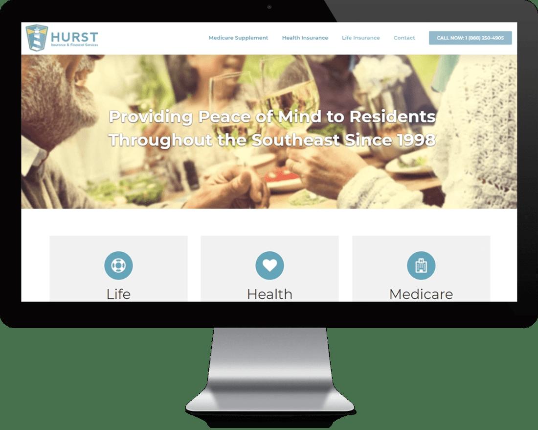 Hurst Insurance & Financial Services Website Design