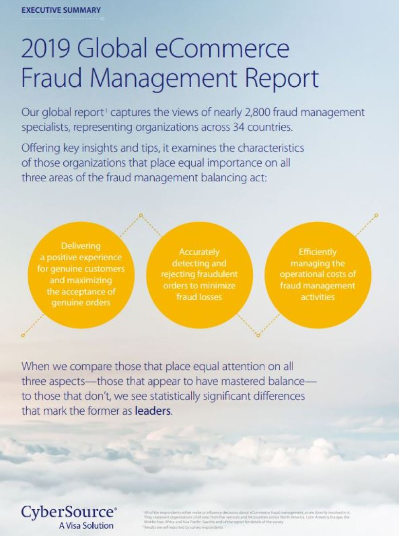 2019 Global Fraud Report