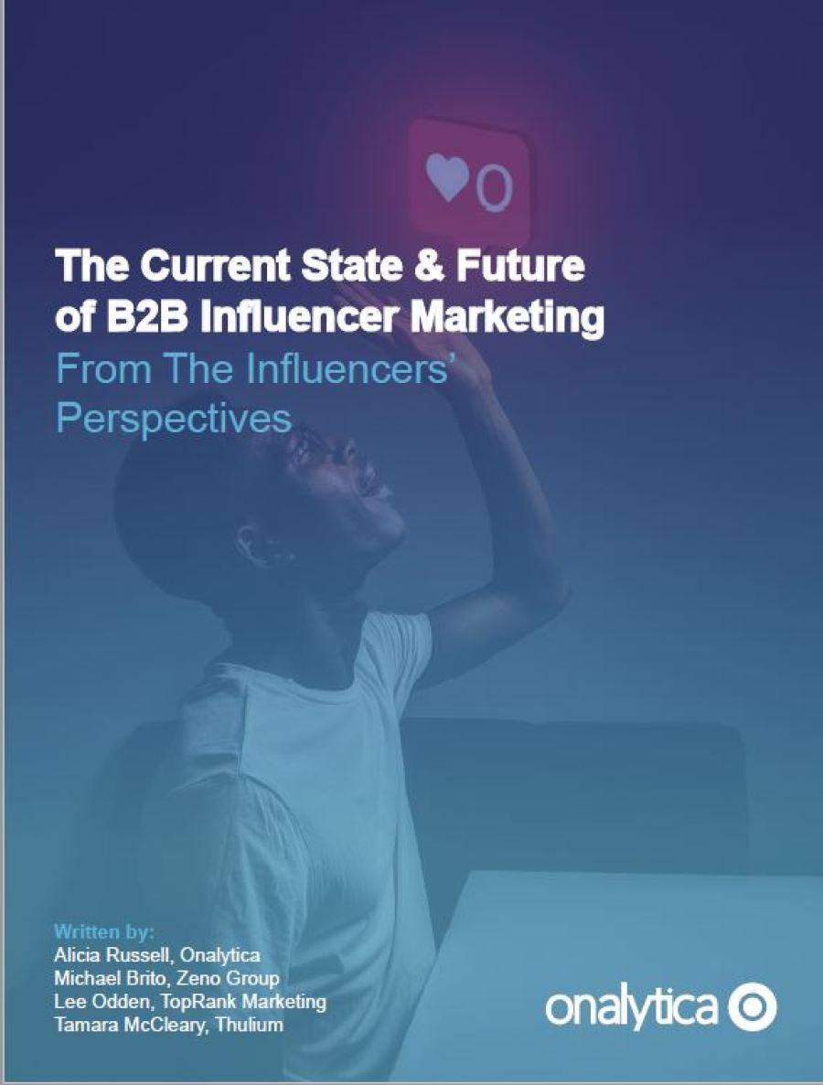 B2B Influencer Marketing in 2021
