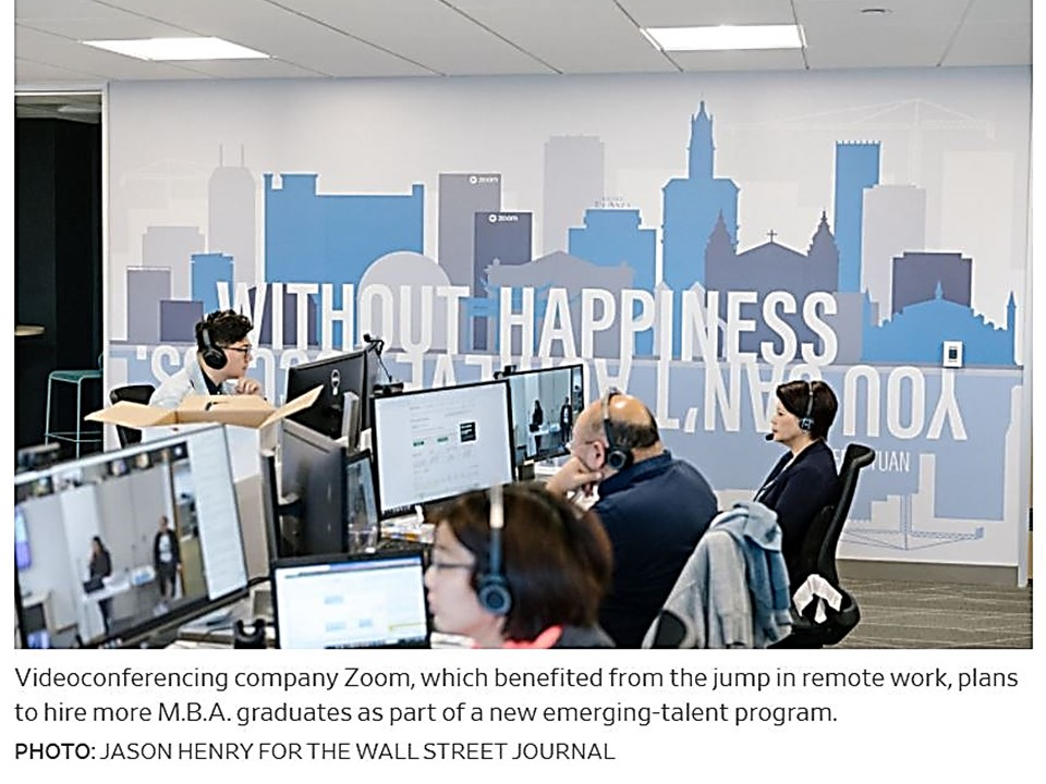 The Renewed Popularity of the MBA