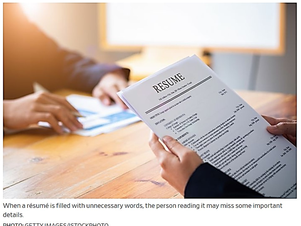 Make Your Resume More Appealing: Resume Don'ts