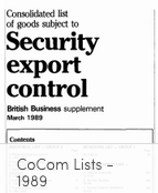 CoCom 1989