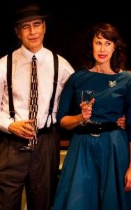 John N. Frank and Caolyn Calzavara in our 2013 production, New Year's Eve at Grandma's House.