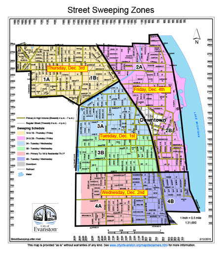 street cleaning extension 2015 map