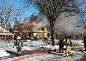 2800 block of Sheridan Pl. fire