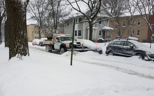 Snow Emergency parking and plowing