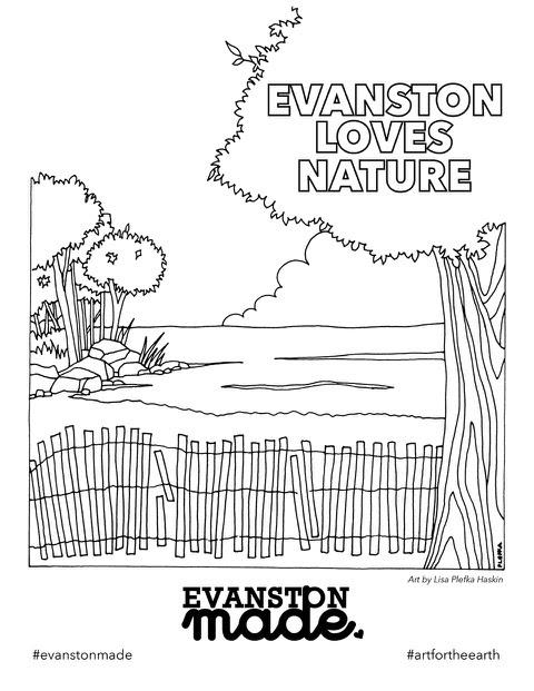 Evanston Art for Earth