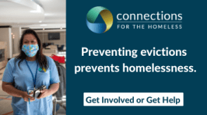 Advertisement for Connections for the Homeless
