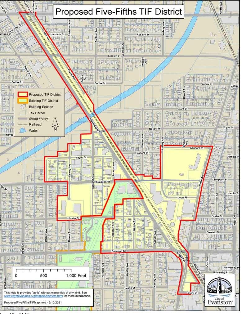 Proposed Fifth Ward TIF