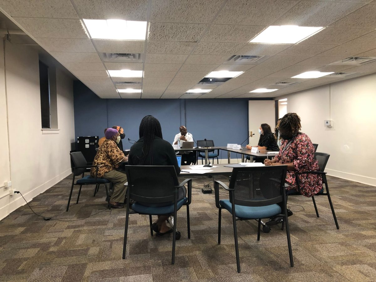 The Reparations committee convened its monthly meeting on October 7th at the Lorraine H. Morton Civic Center.