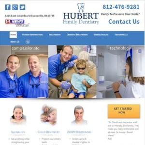 hubert-family-dentistry-website