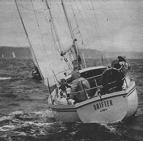 """Drifter in the 1979 issue of """"Sailing"""" magazine"""