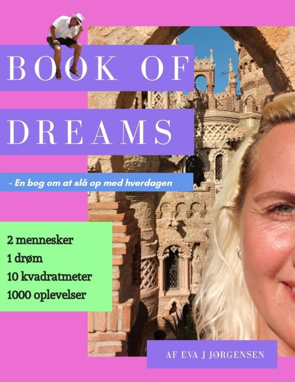 Book cover Danish version Book of dreams by Eva J Jakobsen