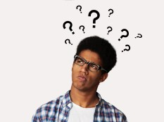 Confused Afro Guy Has Too Many Questions