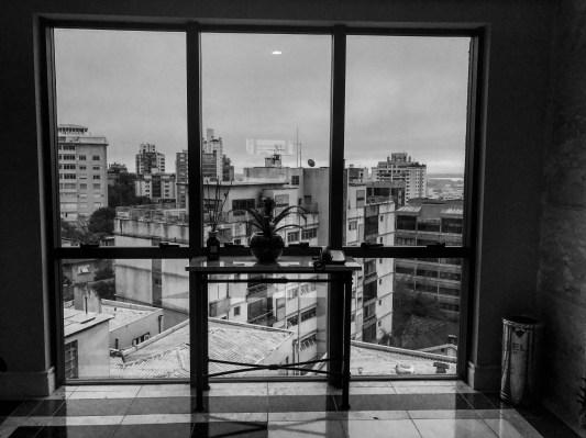 View from the Sheraton in Porto Alegre.